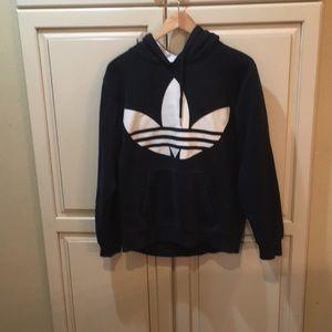 Adidas originals hoodie sweatshirt black s